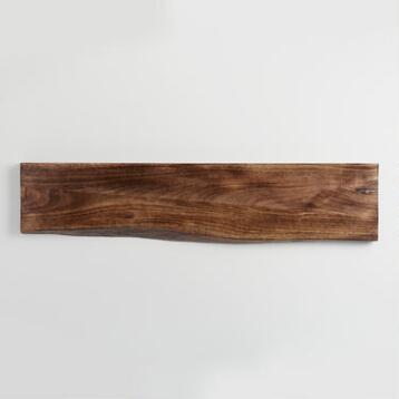 3 ft Organic Edge Wood Mix & Match Wall Shelf